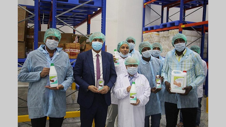 Covid-19 : Le Gabon commercialise ses propres gels hydroalcooliques