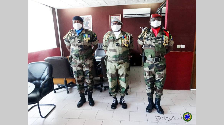 Armée de terre : Le colonel Adolphe Yonghan prend ses fonctions