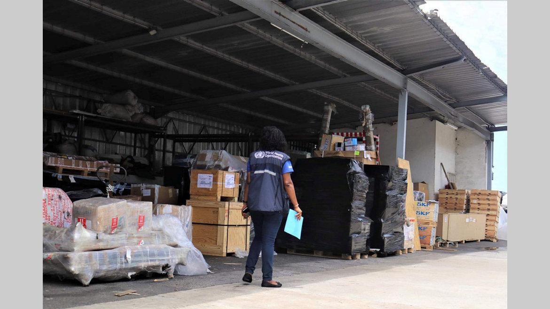 Covid-19 : L'Onu livre des fournitures médicales au Gabon