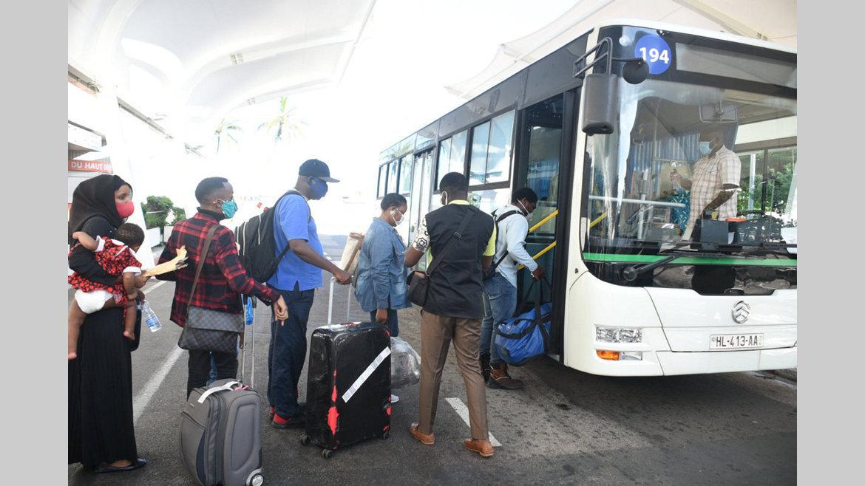 Rapatriement des gabonais bloqués à l'étranger : la première vague est arrivée à bon port