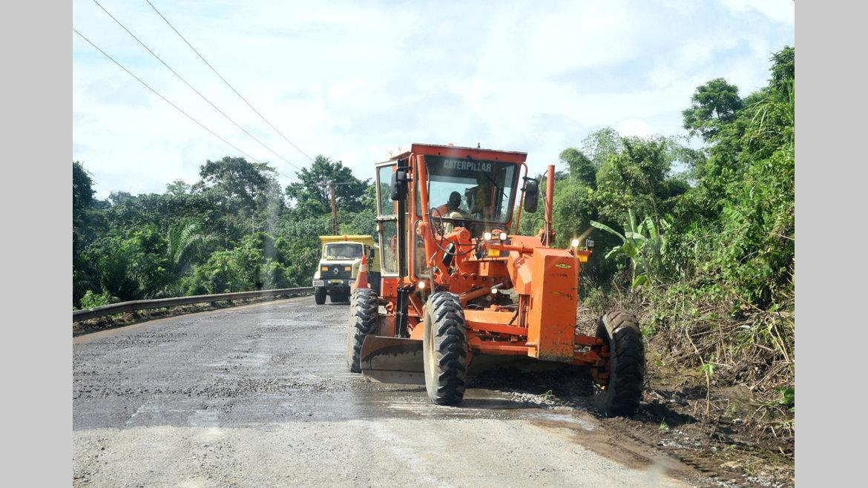 Route : L'axe Ayeme-Bokoue-Nsile en chantier