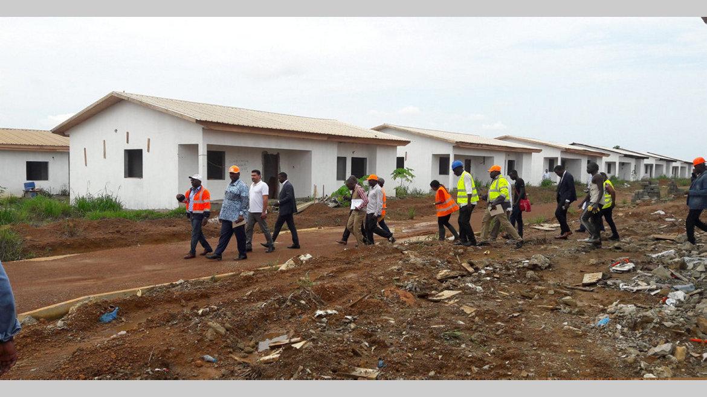 Logements sociaux de Bikélé : un réseau d'électricité fiable dans 3 mois