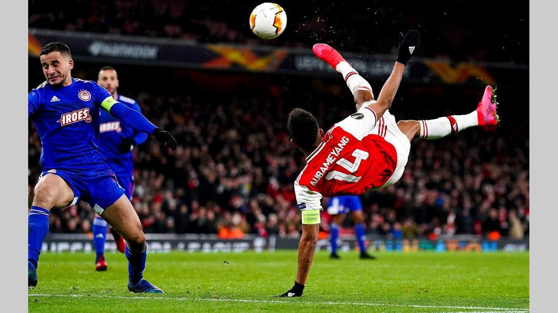 Arsenal : un nouveau contrat à Aubameyang