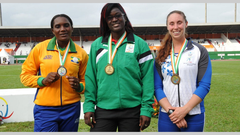 """Carine Mekam Ndong : """"Ramener au Gabon ma première médaille d'or dans une compétition majeure"""""""