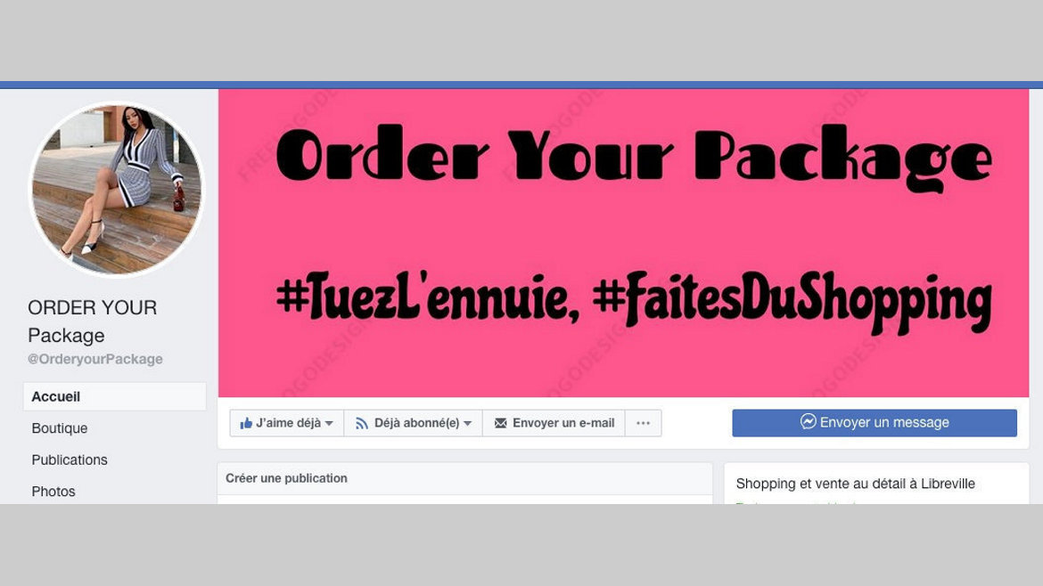 """E-Business : """"Order Your Package"""" pour soigner l'apparence d'une femme"""