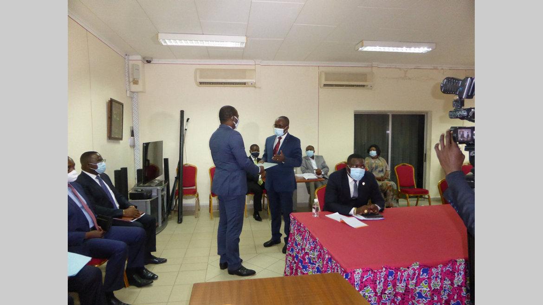 Covid-19 : Mbadinga Madiya et Koho-Nlend à la CNLCEI