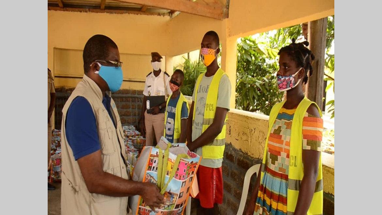 Covid-19 : des kits pour les détenus mineurs de la prison centrale de Libreville