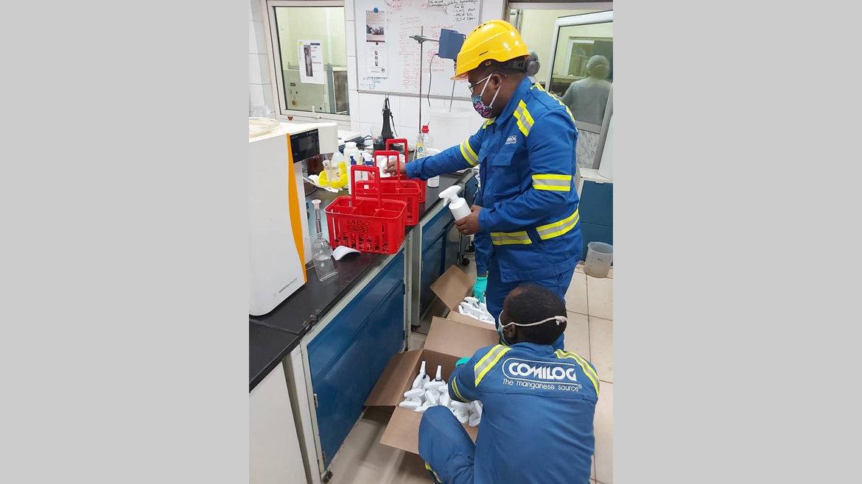 Gels hydroalcooliques : la marque Comilog