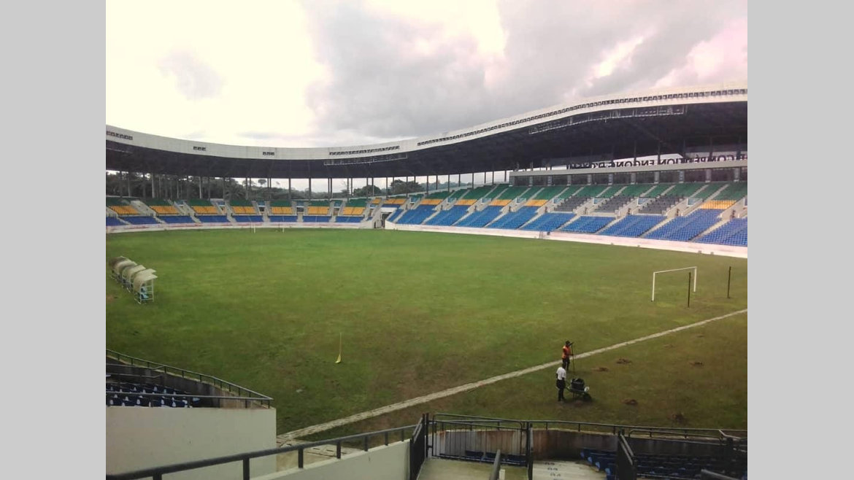 Football : fin des travaux du stade Engong d'Oyem