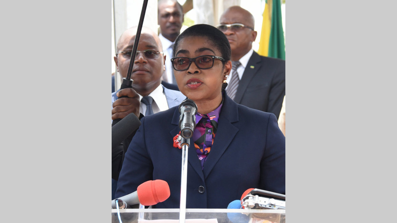 Exécutif : Ossouka-Raponda, première femme cheffe du gouvernement