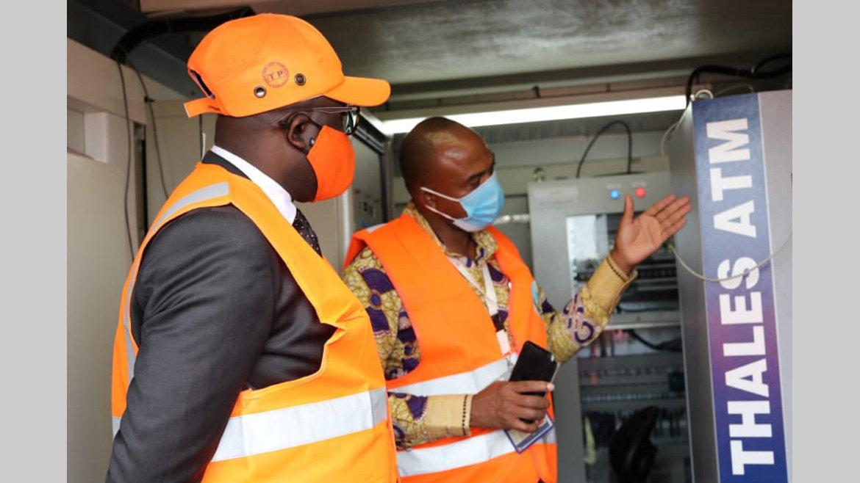 Transports : Bounda Balonzi sur les installations de l'Asecna