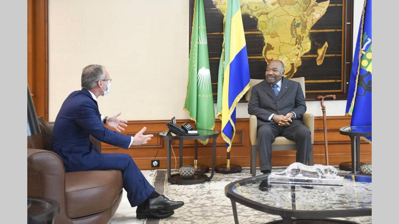 Activités présidentielles : Nicolas Terraz hôte d'Ali Bongo Ondimba
