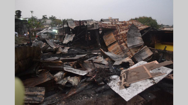 Incendie : le chef du quartier Nkembo-Nord et sa famille sinistrés