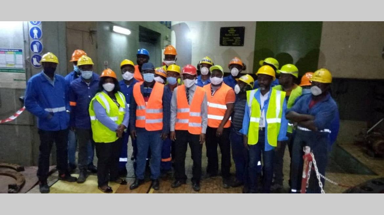 SEEG : reprise de la maintenance du réseau électrique