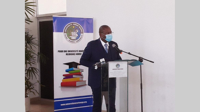 Enseignement supérieur : Patrick Mouguiama-Daouda au contact des réalités de l'UOB