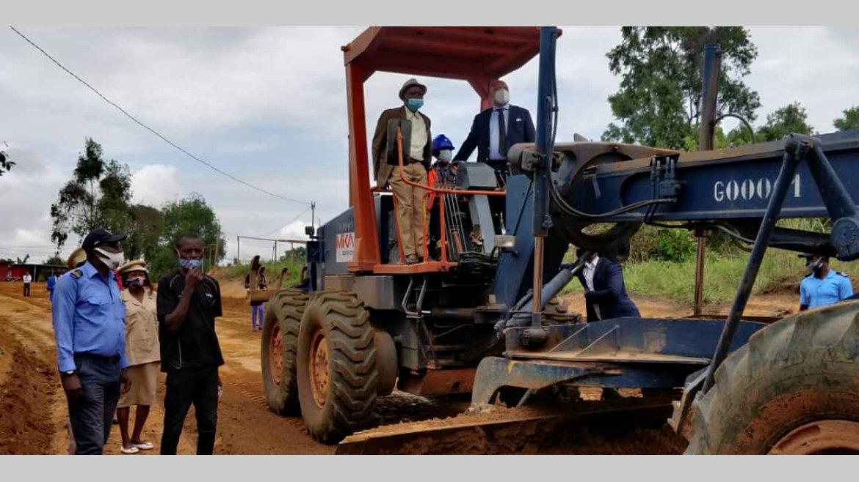 Axe Malibé-I-Malibé-II : lancement des travaux de réhabilitation