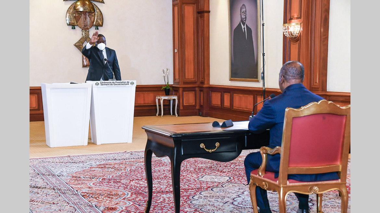 Transports : le ministre délégué prête serment