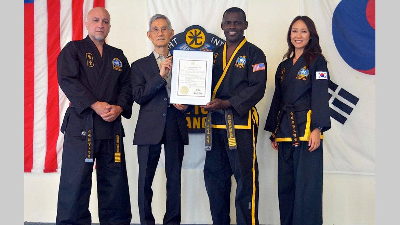 Choi kwang do : la reconnaissance de l'État de Géorgie à Me Guy-Roger Nzamba