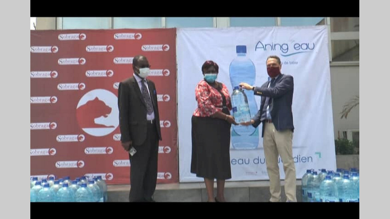 Port-Gentil : la Sobraga renforce la banque alimentaire