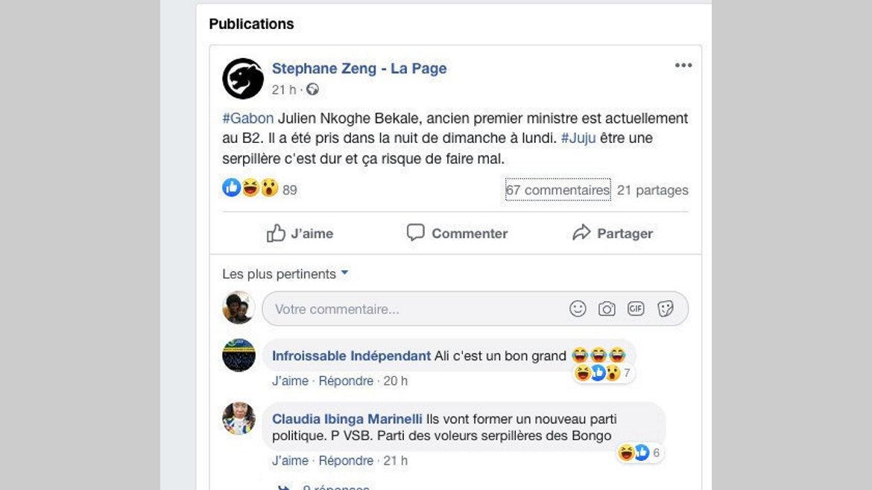 Fake news : Julien Nkoghe Bekale est bel et bien en liberté