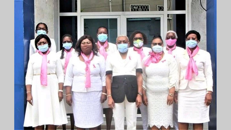 Octobre rose : les femmes du PDG soutiennent la lutte contre les cancers féminins