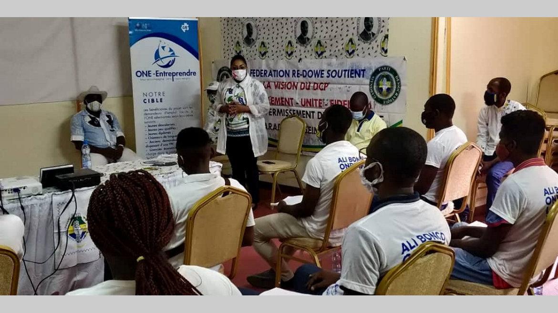 PDG : les jeunes de la fédération Re-Dowe formés à l'entrepreneuriat