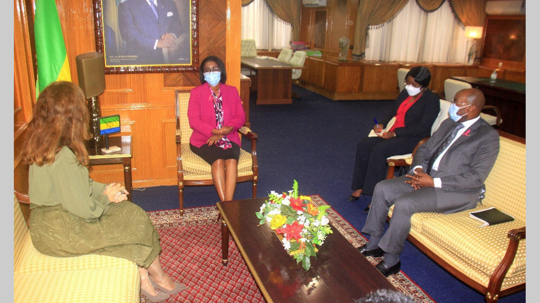 Coopération Gabon-Turquie : Rose Christiane Ossouka et Nilufer Erdem font le point