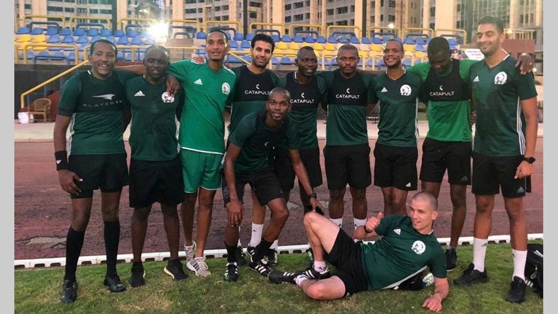 Arbitrage : Éric Otogo était au Caire