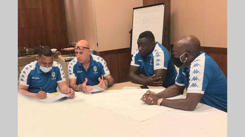 Avant Gabon-Gambie : le staff technique des Panthères s'active