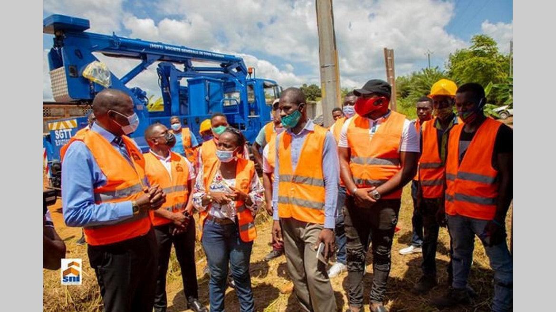 Logements Sni Bikélé : 200 familles connectées au réseau électrique