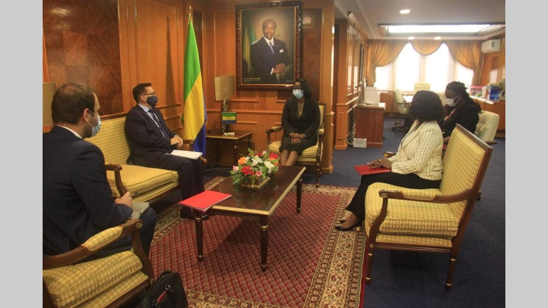 Gabon-Russie : Ilias Iskandarov hôte de Rose Christiane Ossouka Raponda