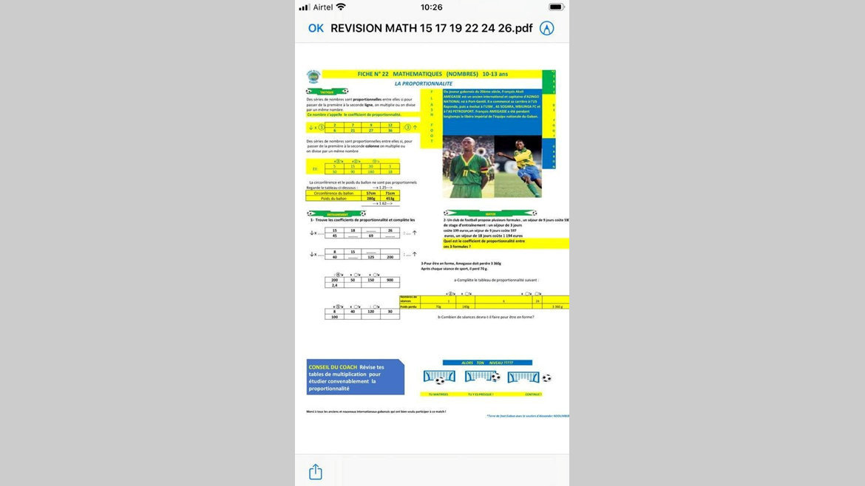 """Concilier sport et études : le """"Livret de révision"""""""