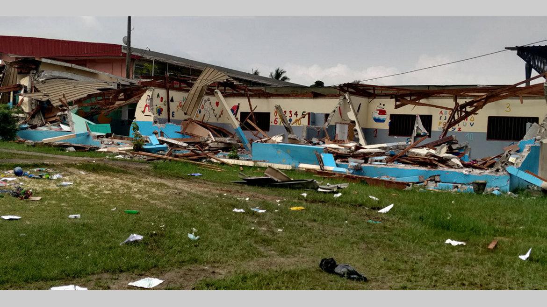 06h : Destruction du centre préscolaire de Lalala : qu'est-ce qui n'a pas marché?