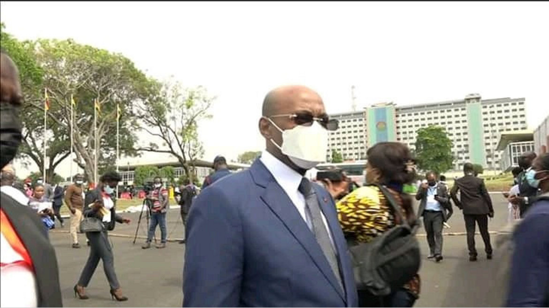 Investiture du chef de l'État du Ghana : Moubelet Boubeya représente Ali Bongo Ondimba