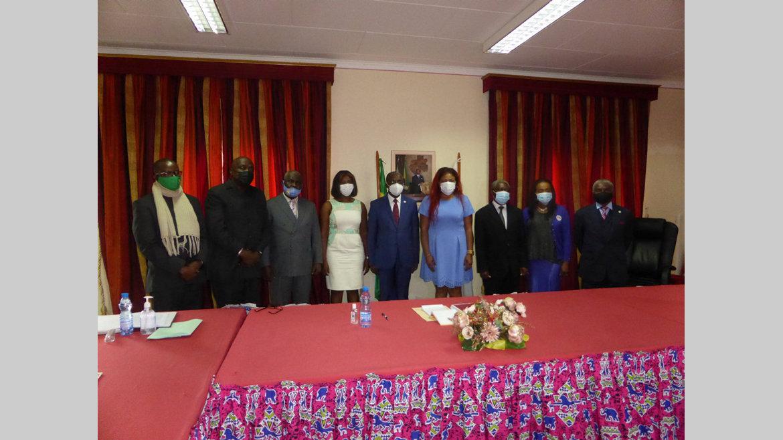 Flux financiers illicites : une équipe de l'Afrosai à la CNLCCEI