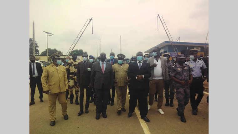 Forces de défense et de sécurité : deux en ministres en mission dans le Woleu-Ntem