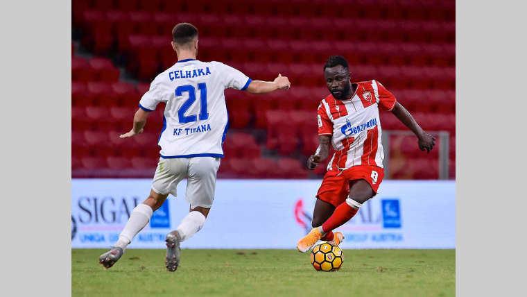 Football : kanga Guélor optimiste avant le match contre la RDC