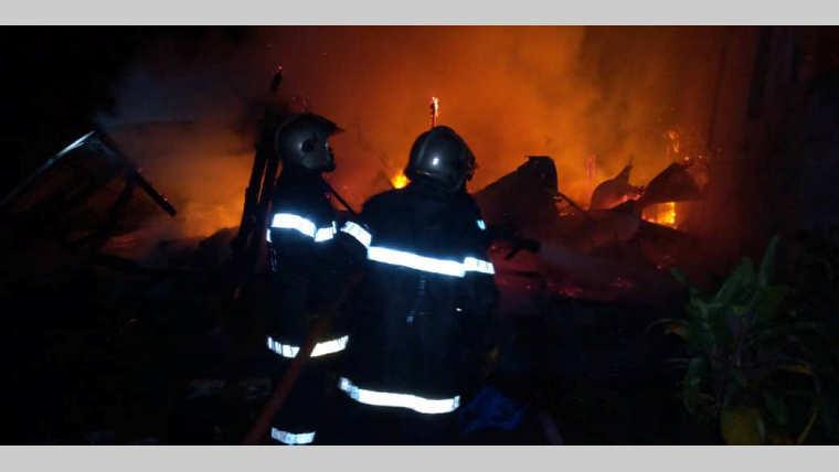 Port-Gentil : 3 maisons en fumée