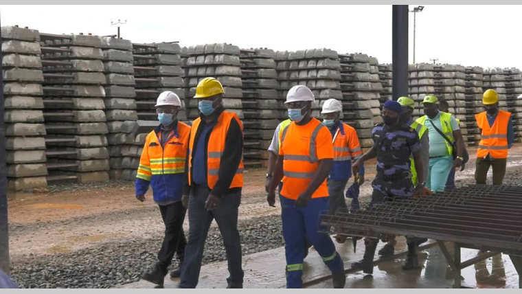 Voie ferroviaire : Setrag accélère les travaux