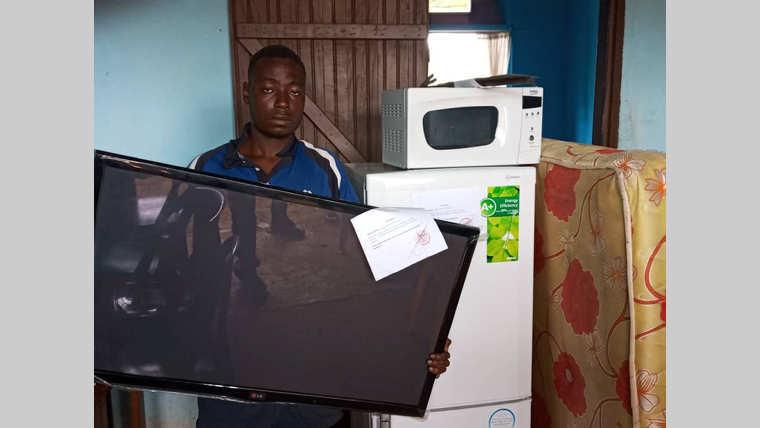 Mouila : un voleur récidiviste dévalise le domicile d'un greffier