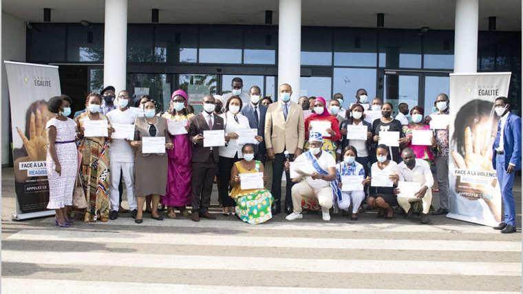 Gabon Égalité : clôture de l'atelier de formation des acteurs de la société civile