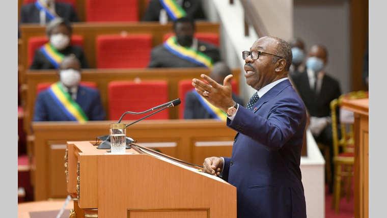 Ali Bongo Ondimba au Congrès : Un double symbole!