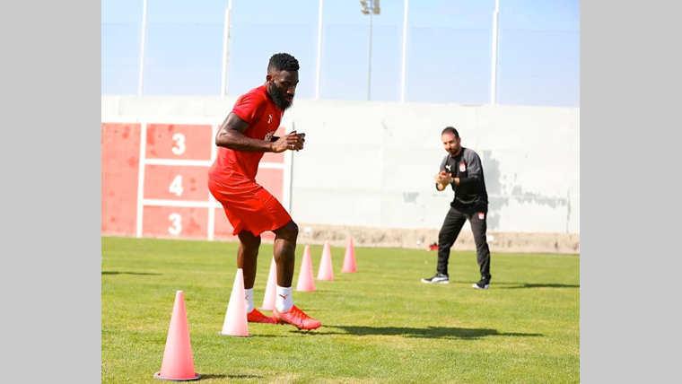 10H:Sivasspor : Appindangoye a repris hier les entraînements