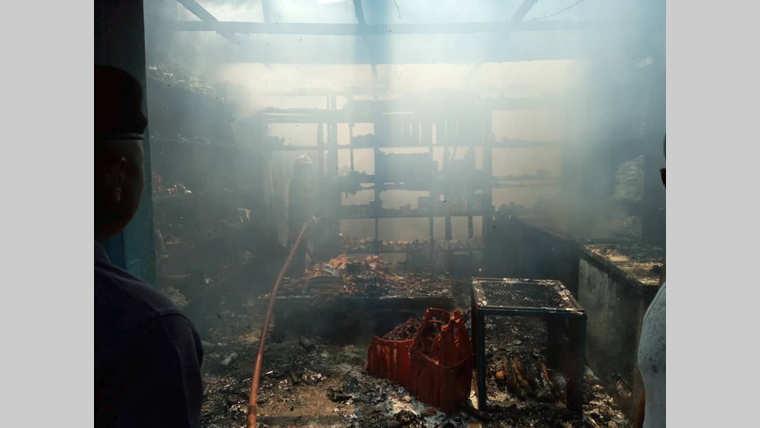 Port-gentil : Incendie causé par une marmite oubliée au feu