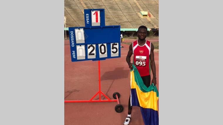 Concours du saut en hauteur à Dakar : Elca-Charles Ambourouet remporte vainqueur