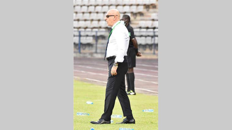 """: Patrice Neveu: """" Le match face à l'Égypte est porteur d'espoir"""""""