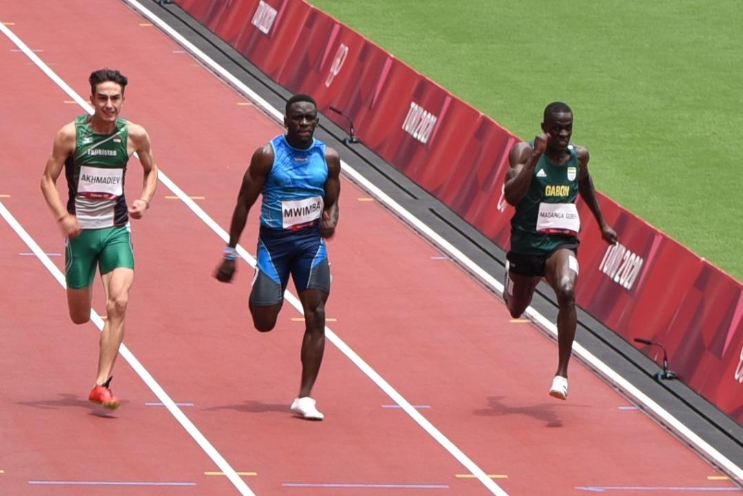 JO Tokyo 2020 : Guy Maganga Gorra qualifié pour le 1er tour du 100 m en 10, 61