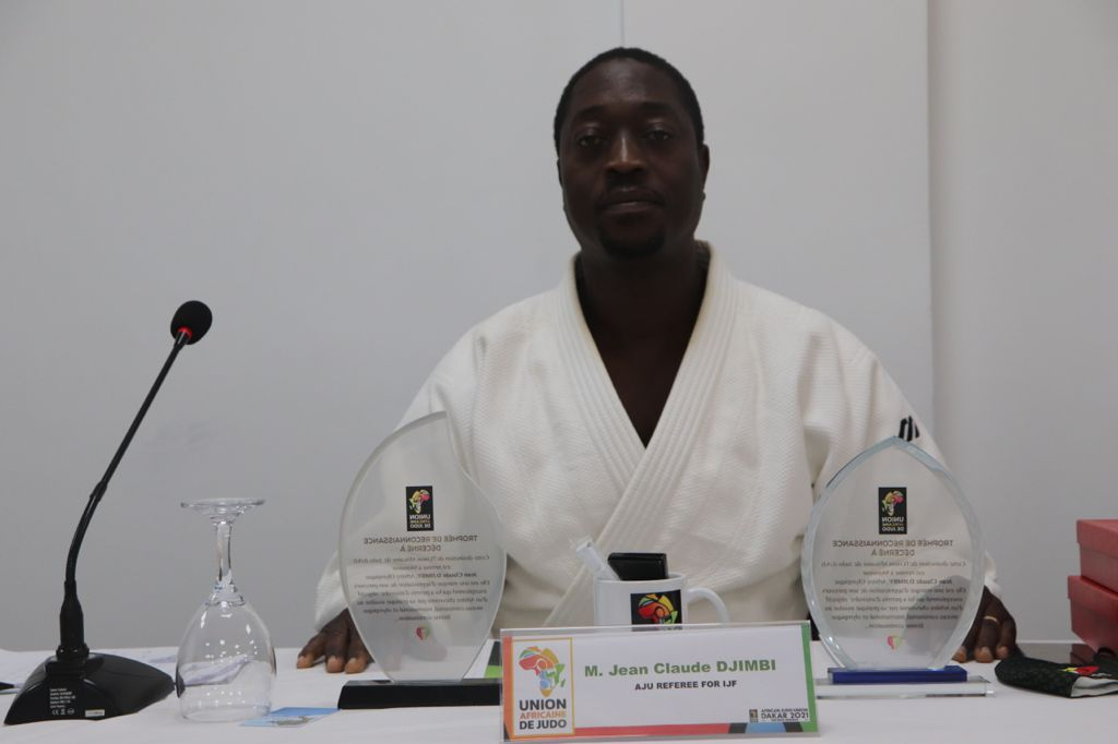 Judo: Me Jean-Claude Djimbi récompensé par l'UAJ à Dakar