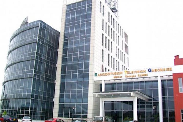 Le bâtiment du Groupe Gabon Télévisions