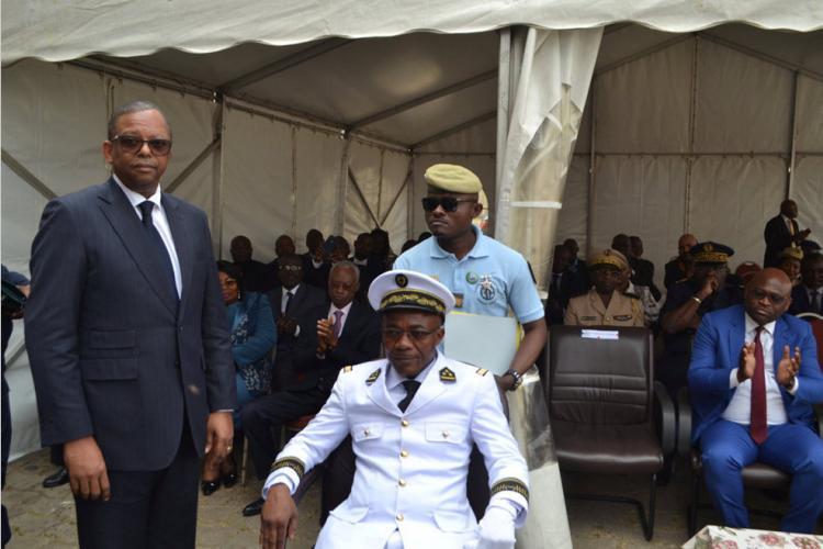 Installation du nouveau gouverneur : Guillaume Adjangoué-Lappel dans ses fonction depuis hier